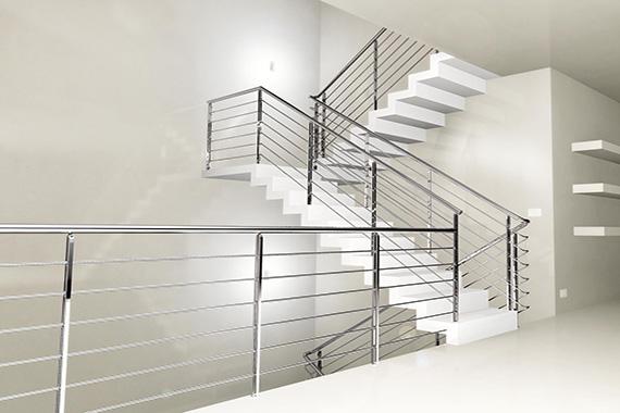 escalera de acero inoxidable barcelona ferreteria