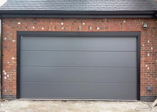 puerta de garaje hogar metal barcelona