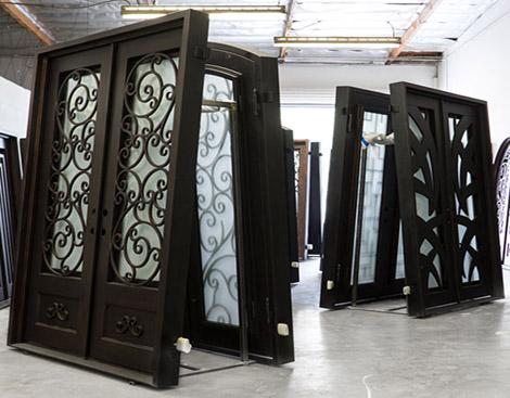 puerta metalica para hogar ferreteria herreria metalisteria