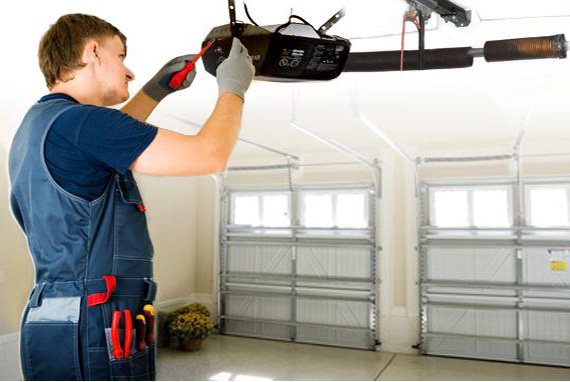 sustitucion de motor garaje